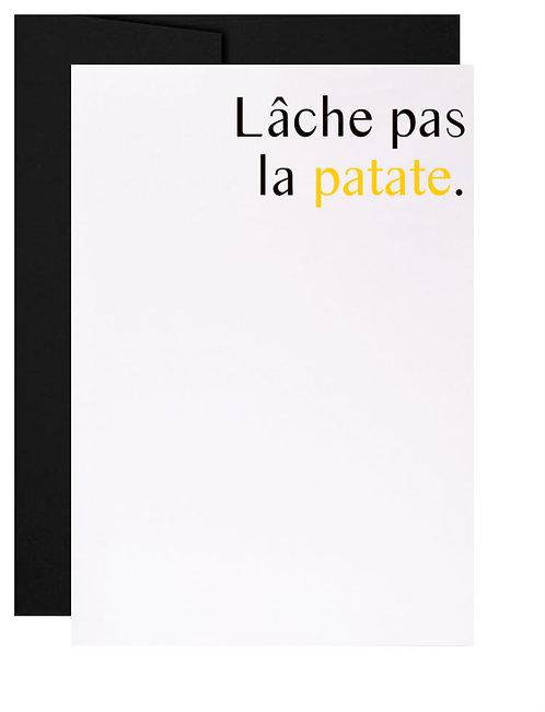 Carte de souhait québécoise Convalescence