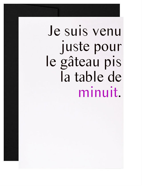 053 - la table de minuit