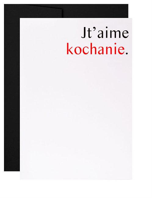 Carte de souhait québécoise cadeau polonais