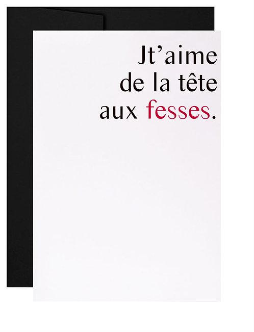 Carte de souhait Saint-Valentin