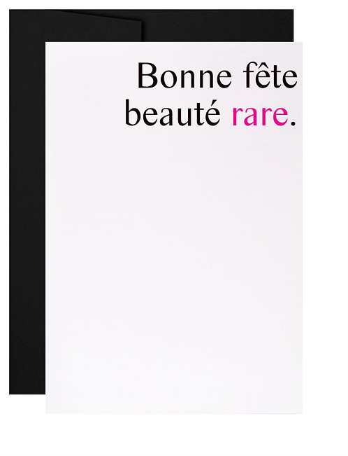 021 - beauté rare