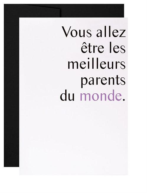 Carte de souhait québécoise Enfants