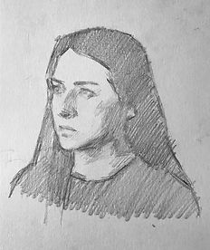 step drawing portrait paris conservatoir