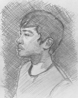 portrait by louise tan