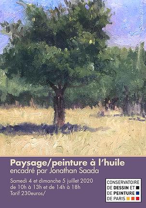 workshop paris landscape realistic paint