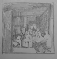 velasquez study paris drawing painting a