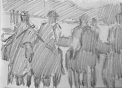 degas etude dessin drawing painting acad
