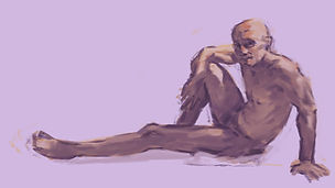 nude step live painting session online c