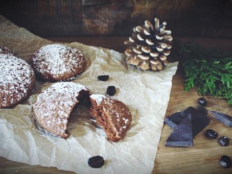 Biscuits sans gluten chocolat espresso