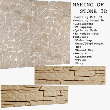 Making Of Stone 3D