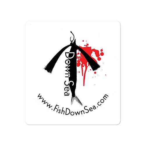 Fish Downsea Classic Logo Sticker
