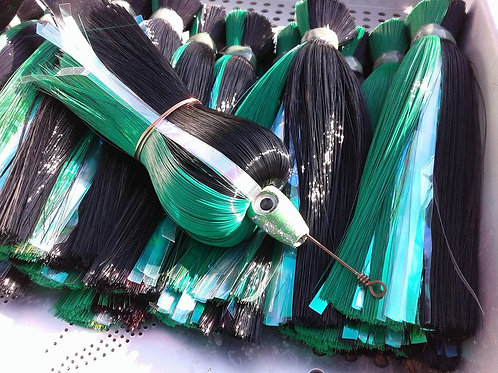 Black and Green Fish Downsea Dredge Flares
