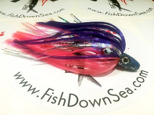 Purple and Pink Fish Downsea 2 ounce Tuna Flare