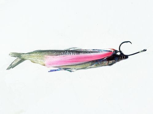 Pink and White Fish Downsea Party Skirt Rigged