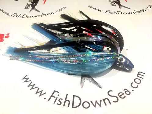 Black and Downsea Blue Fish Downsea 2 ounce Tuna Flare