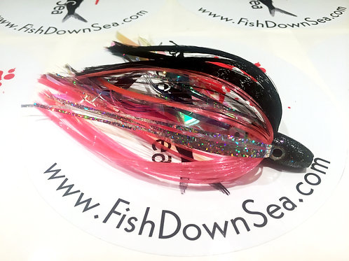 Black and Pink Fish Downsea 2 ounce Tuna Flare