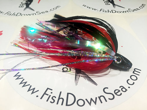 Black and Red Fish Downsea 2 ounce Tuna Flare