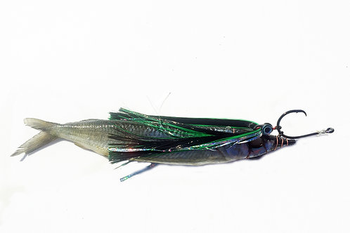 Black and Green Fish Downsea Party Skirt Rigged