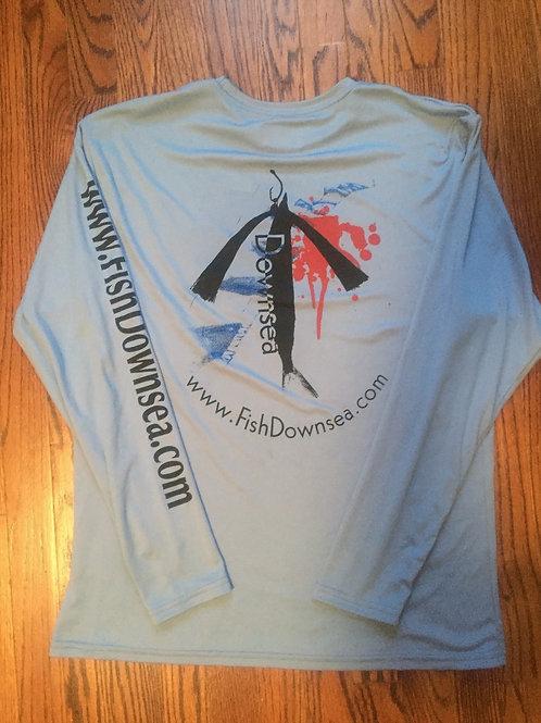 Rigger Full Fish Downsea Long Sleeve Shirt (back)