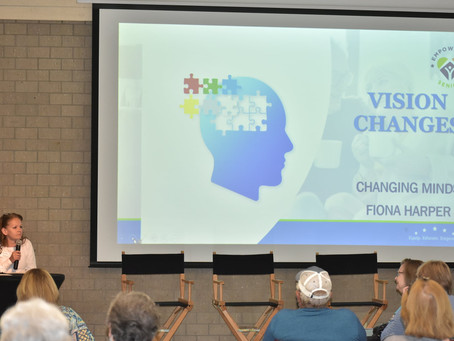 Changing Minds was proud to speak and participate on the panel of the Empowered Senior Series!