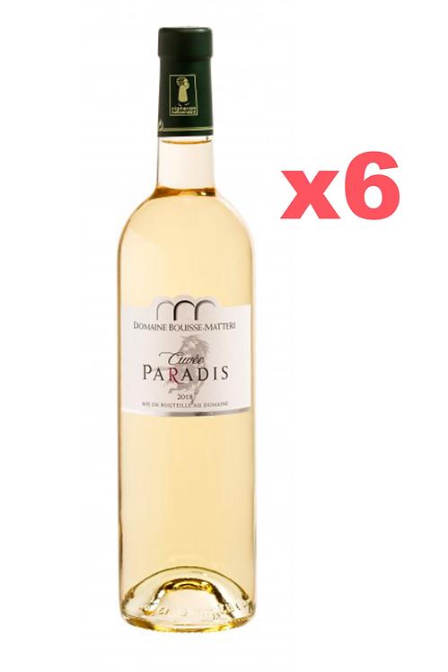 Cuvée du Paradis Blanc 2019 - AOC Côte de Provence - Blanc x 6