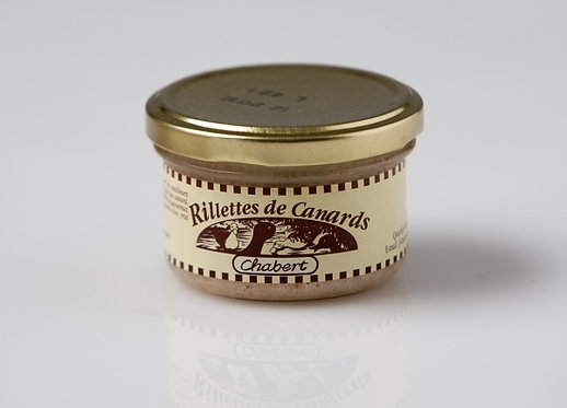 Rillettes canard - 90gr
