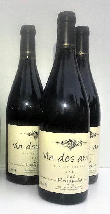 Vin des Amis 2016 - Vin de pays - Rouge x3