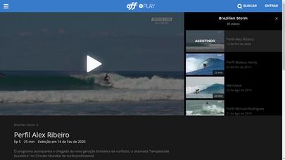 Brazilian Storm Perfil Alex Ribeiro