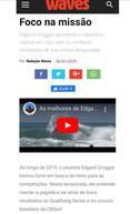 WAVES_ Materia sobre Edgar Groggia