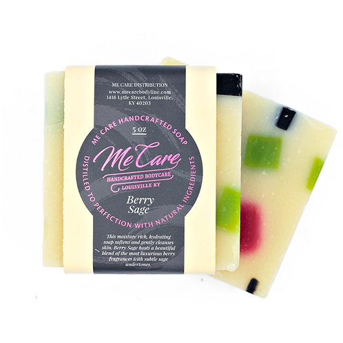Berry Sage Handcrafted Soap