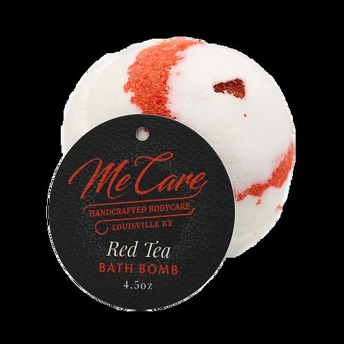 Red Tea Bath Bombs