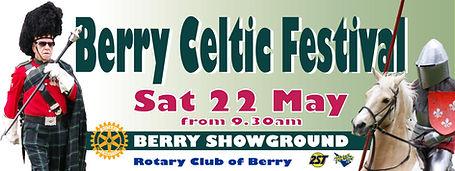 2021 Celtic Festival Banner 3000 x 1200m