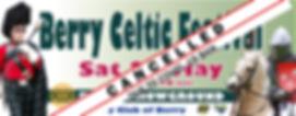 2020 Celtic Festival Banner Cancellation