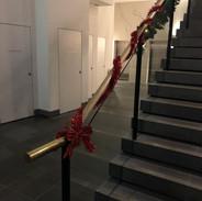 Foyer Stairs - Christmas 2018