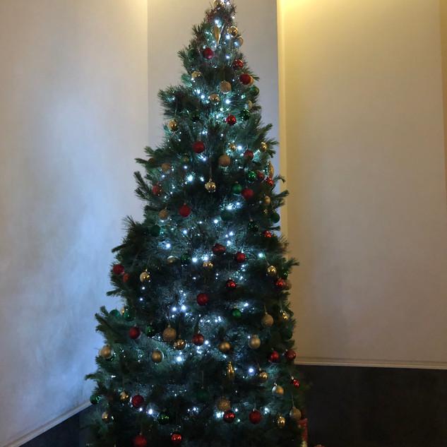 Foyer- Live Christmas Tree 2018