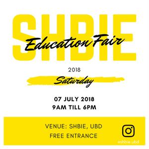 SHBIE Education Fair 2018