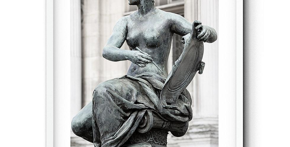 Les statues de l'Hôtel-de-Ville