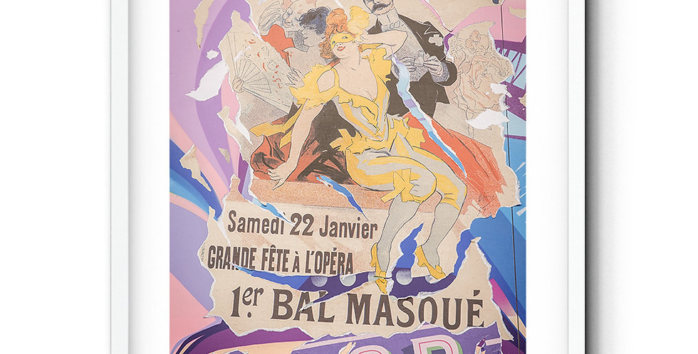 Vintage Street Poster