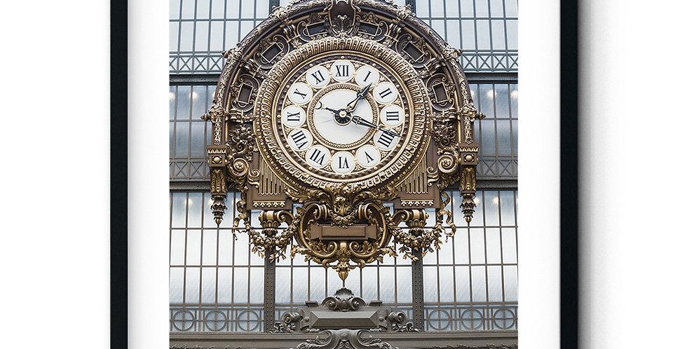 Station Clock Musée d'Orsay