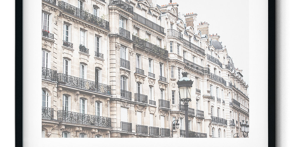 Paris facades
