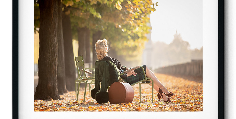 Autumn feelings in the Tuileries Garden