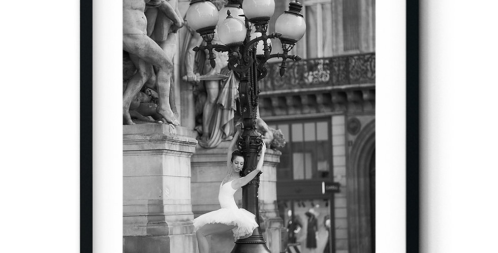 Ballerina at the Opera