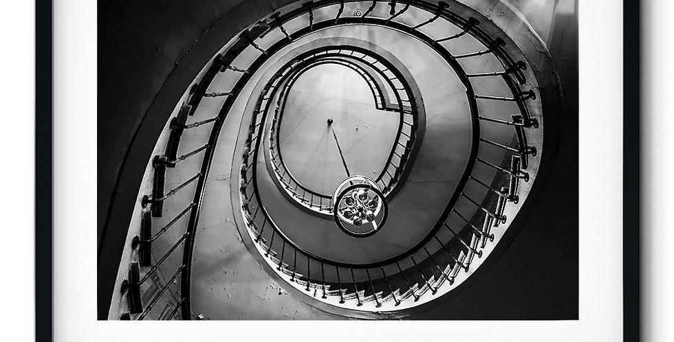 Escalier dans la galerie Vivienne