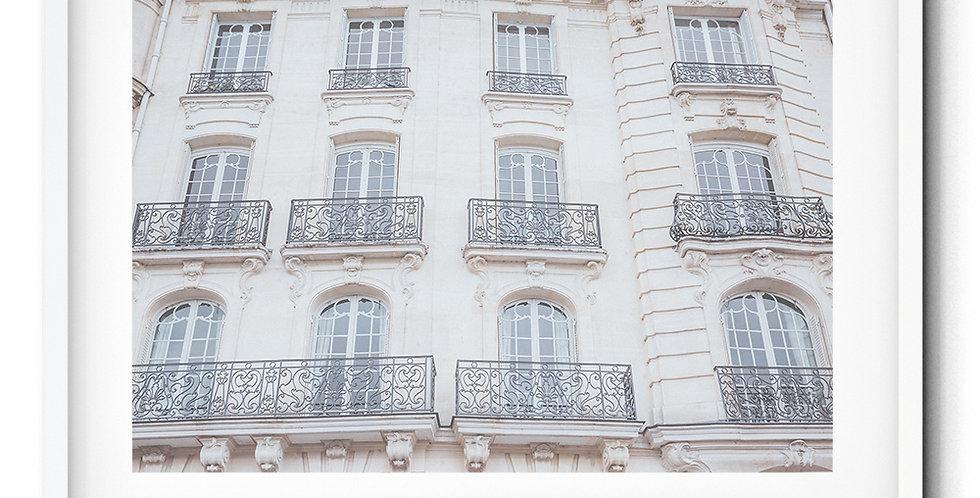 Parisian facades