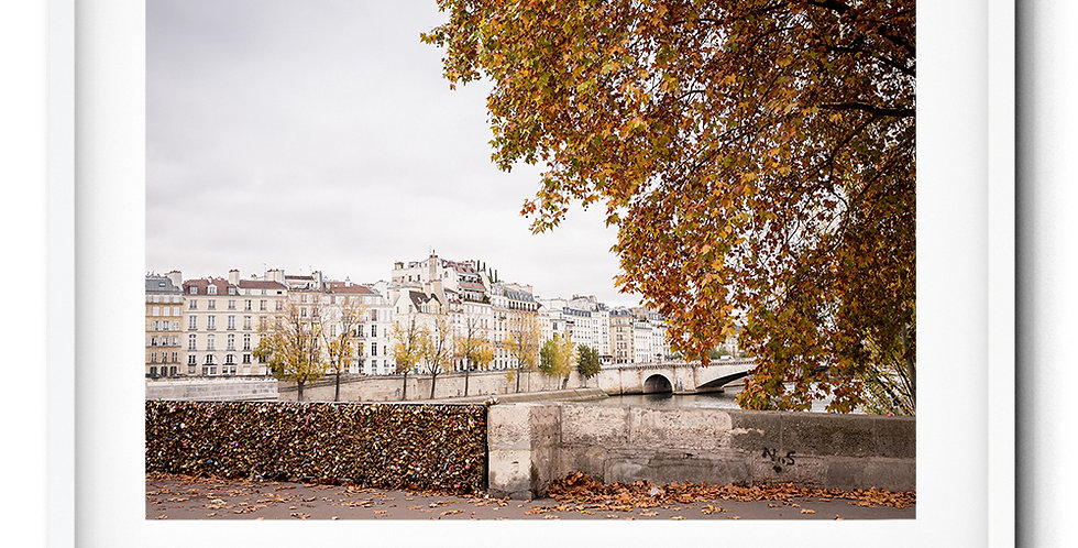 Autumn Île Saint-Louis