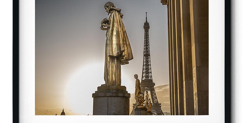 Sunrise at Eiffel