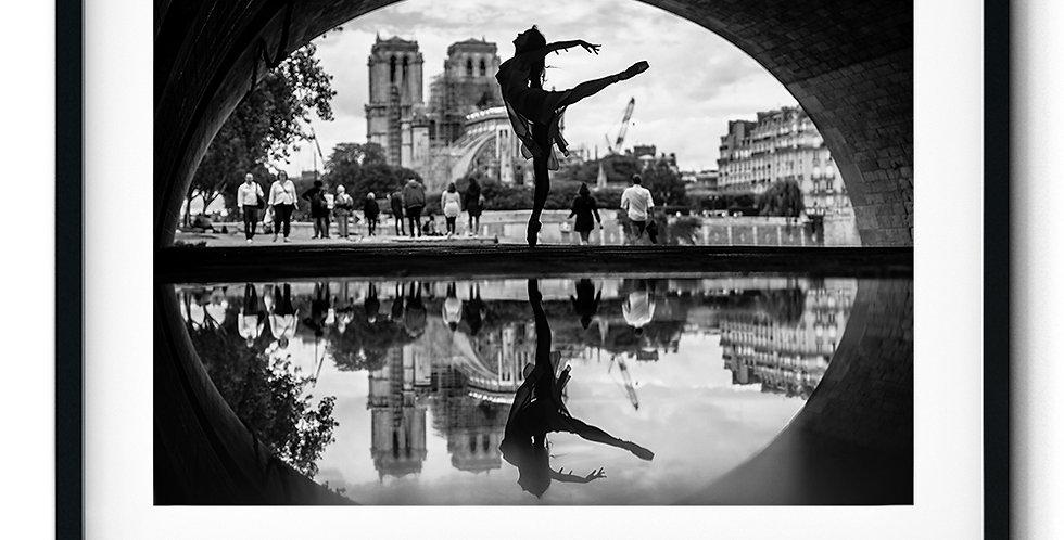 Silhuett ballerina