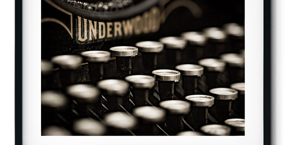 Underwood Typewriter II