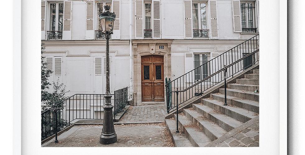 Rue Chappe, Montmartre