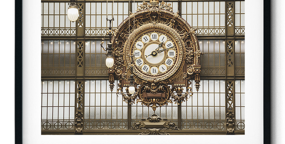Station Clock Musée d'Orsay